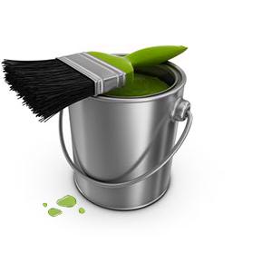 verfpot-groen
